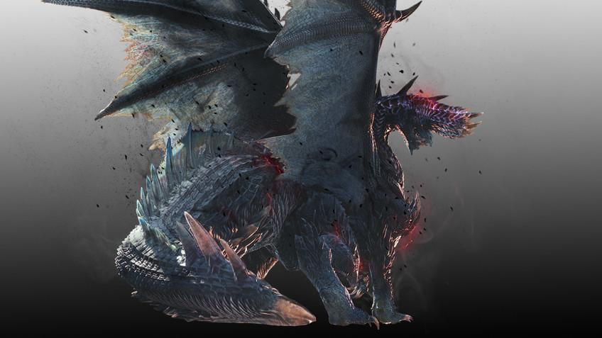 Пылающий чёрный дракон Алатреон появится в MHW: Iceborne уже9 июля