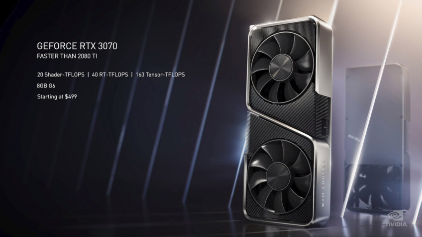 NVIDIA представила новое поколение видеокарт — RTX 3090, 3080 и 3070