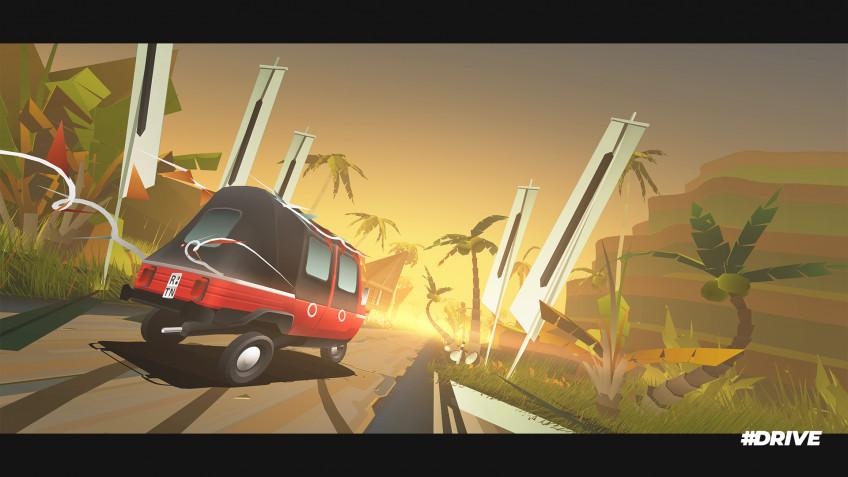 Бесконечная гоночная игра #DRIVE выходит на Nintendo Switch