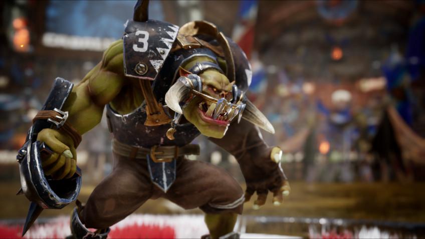 Новый ролик по Blood Bowl3 посвятили команде чёрных орков