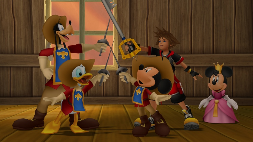 «Бука» выпускает Kingdom Hearts HD2.8  и празднует день рождения