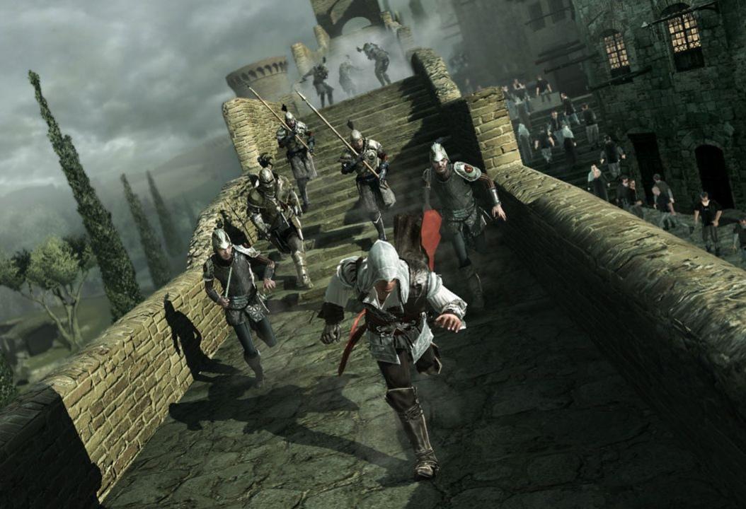Assassin's Creed2 не проходят до конца