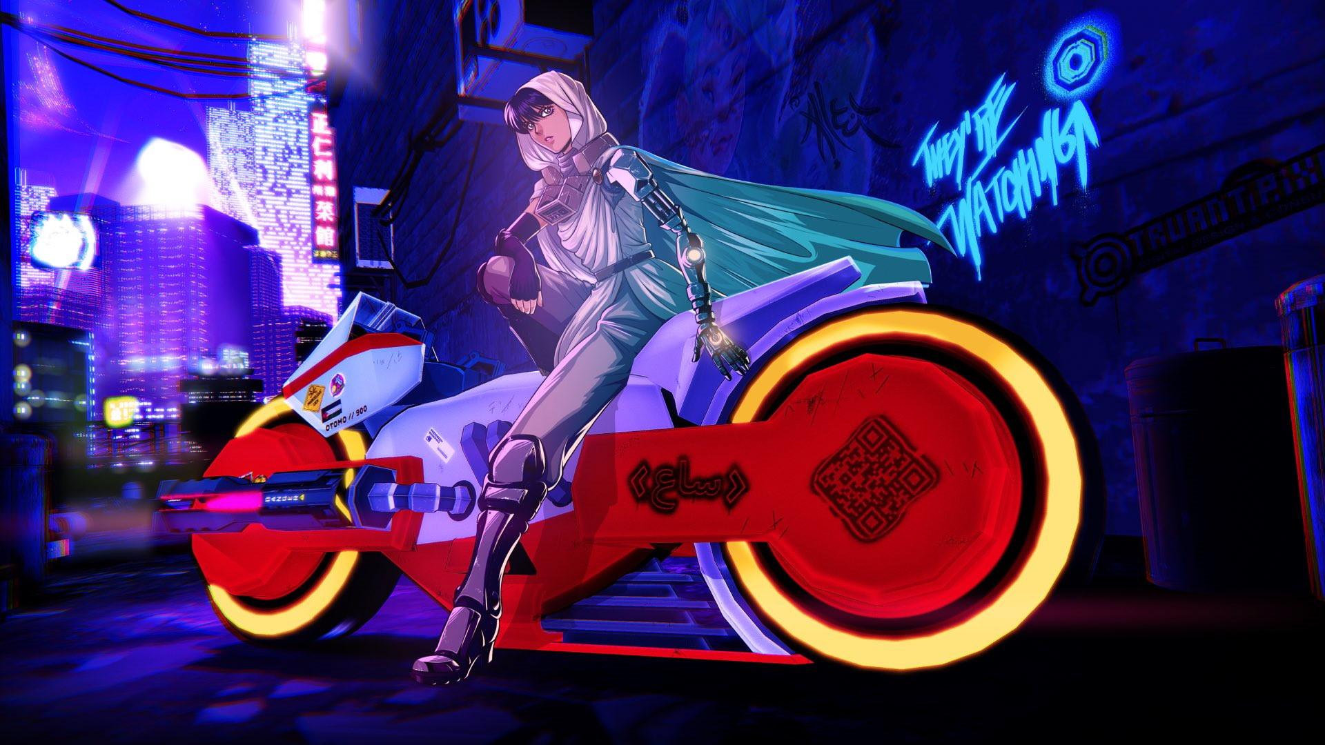 RUNNER — аркадный VR-боевик, вдохновлённый «Акирой» и «Призраком в доспехах»