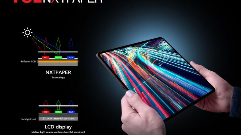 TCL показала новые экраны для будущих мобильных устройств