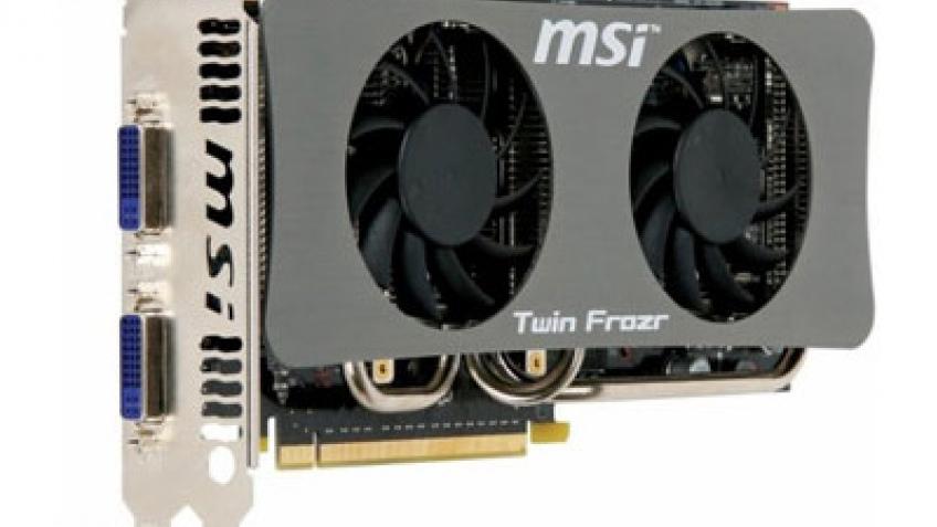 Очередные модификации видеокарт MSI