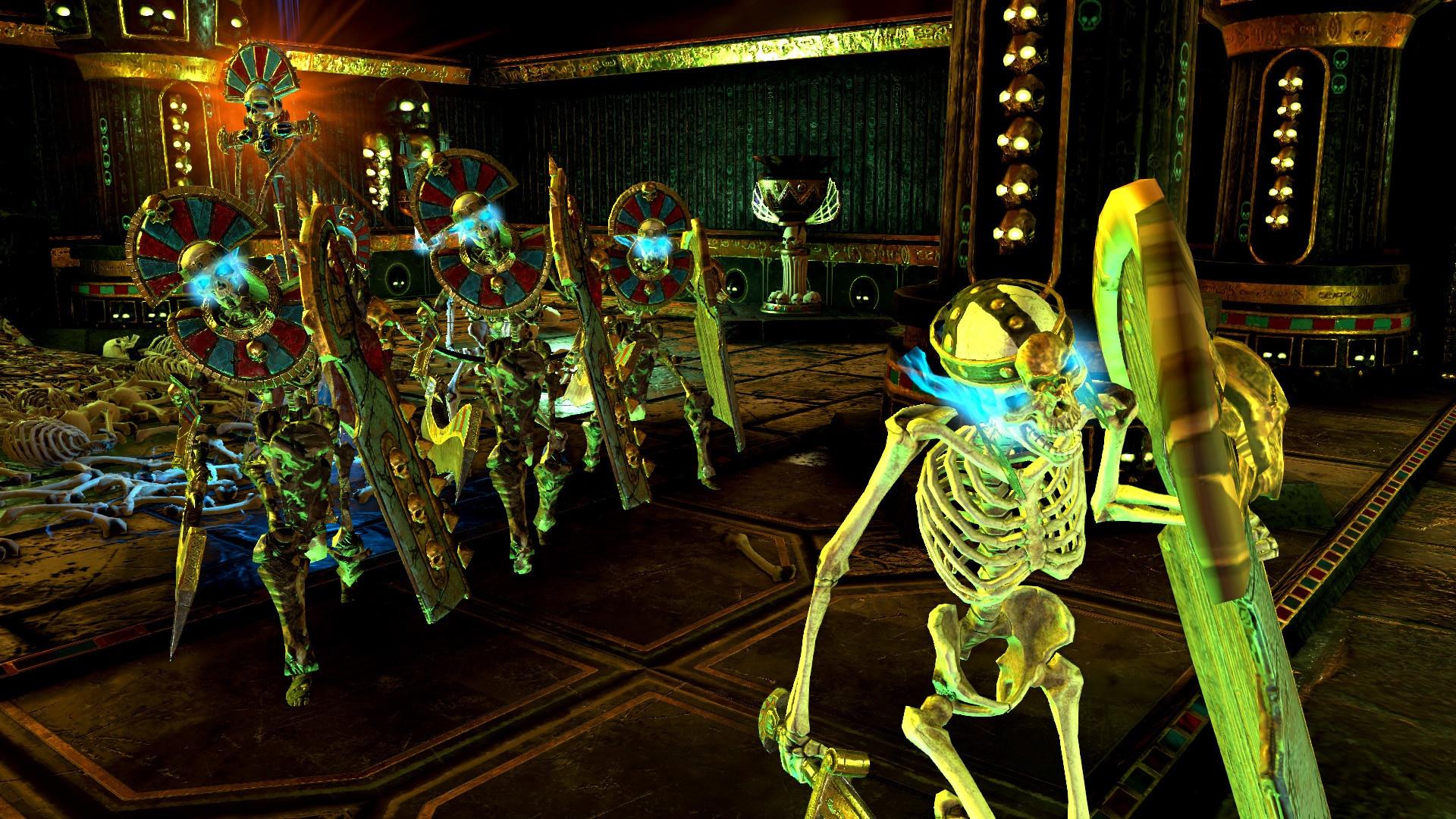 К Warhammer: Chaosbane вышло обновление Tomb Kings