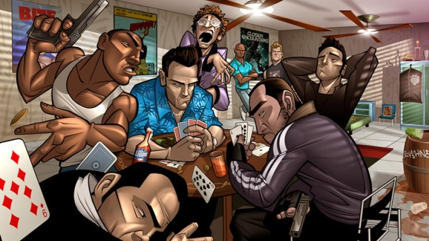 Новые лица Grand Theft Auto5