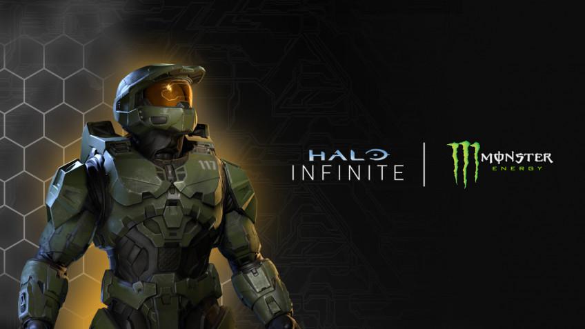 Halo Infinite объединилась с Monster Energy, показав тематические скины оружия