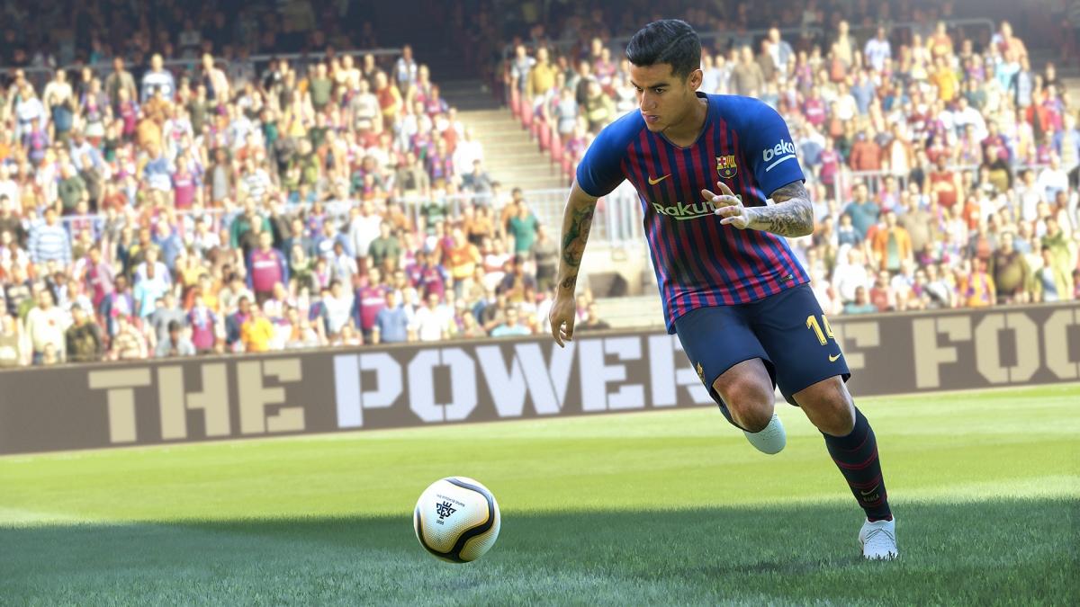 Условно-бесплатная Pro Evolution Soccer 2019 выйдет через три дня