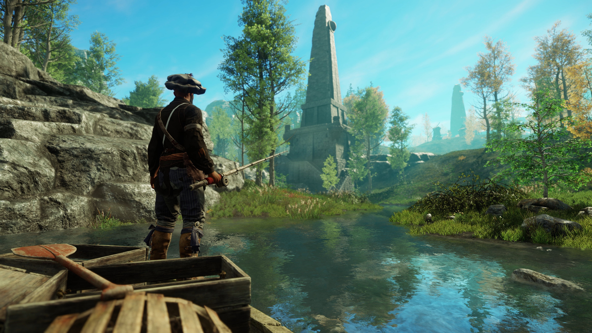 Сражения и рыбалка: IGN показал фрагменты игрового процесса New World