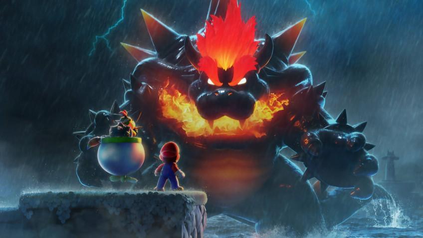 Super Mario 3D World + Bowser's Fury возглавила cвежий чарт розницы Японии