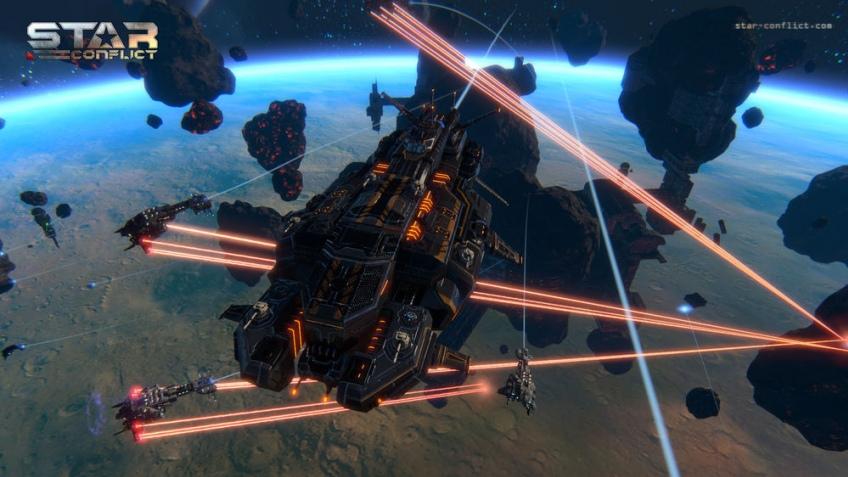 В онлайновом экшене Star Conflict появились долгожданные дредноуты