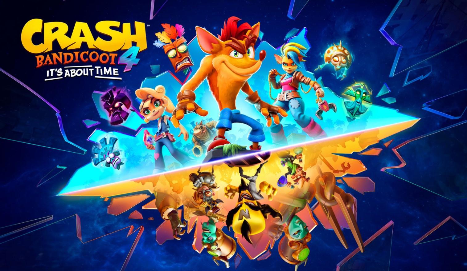 Crash Bandicoot4 выпустят на PS5, Xbox Series, Nintendo Switch и даже PC