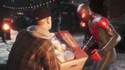 Появились новые скриншоты «Человека-паука: Майлз Моралес»