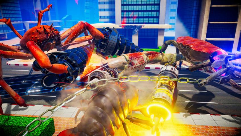 «Раковый» файтинг Fight Crab вышел на Nintendo Switch