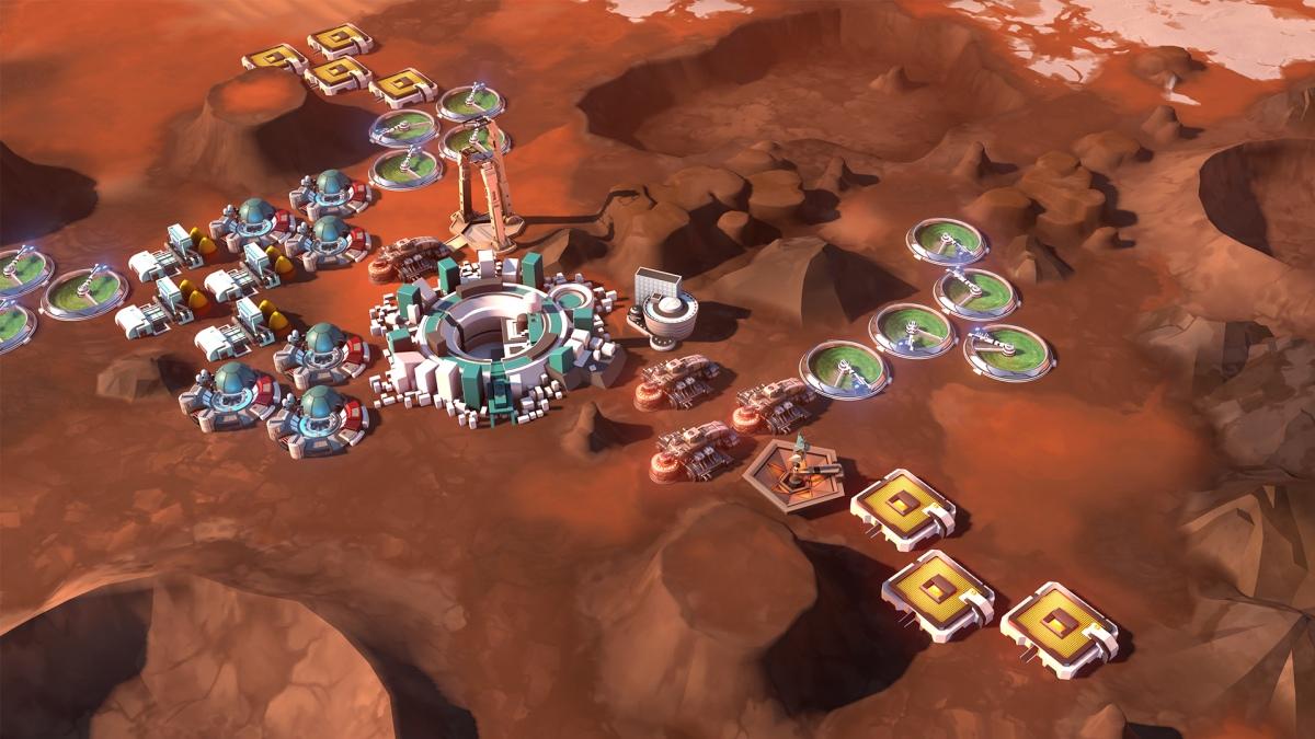 Бывший дизайнер Civilization4 выпустил стратегию про Марс
