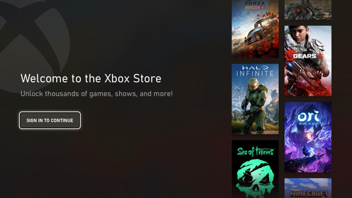 Microsoft представила новый магазин для консолей Xbox