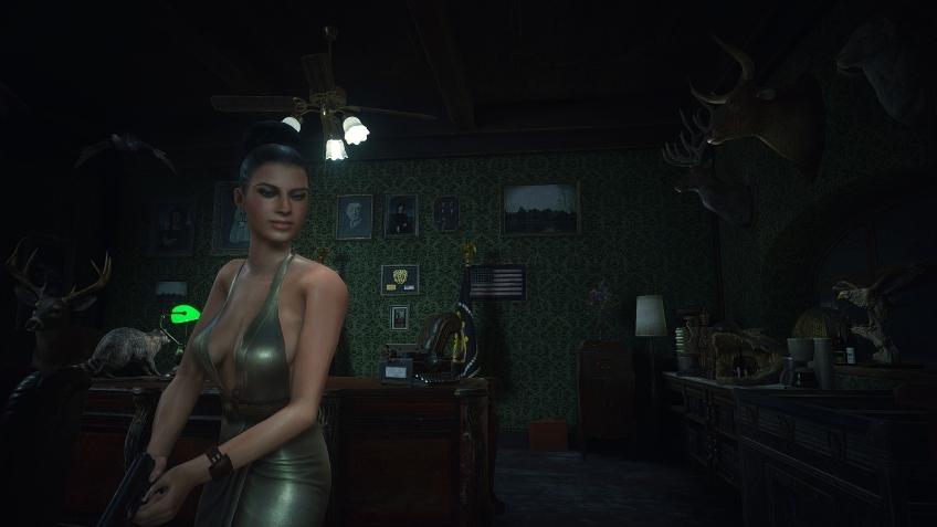 Энтузиаст перенёс Экселлу Джионне из Resident Evil5 в ремейк Resident Evil2
