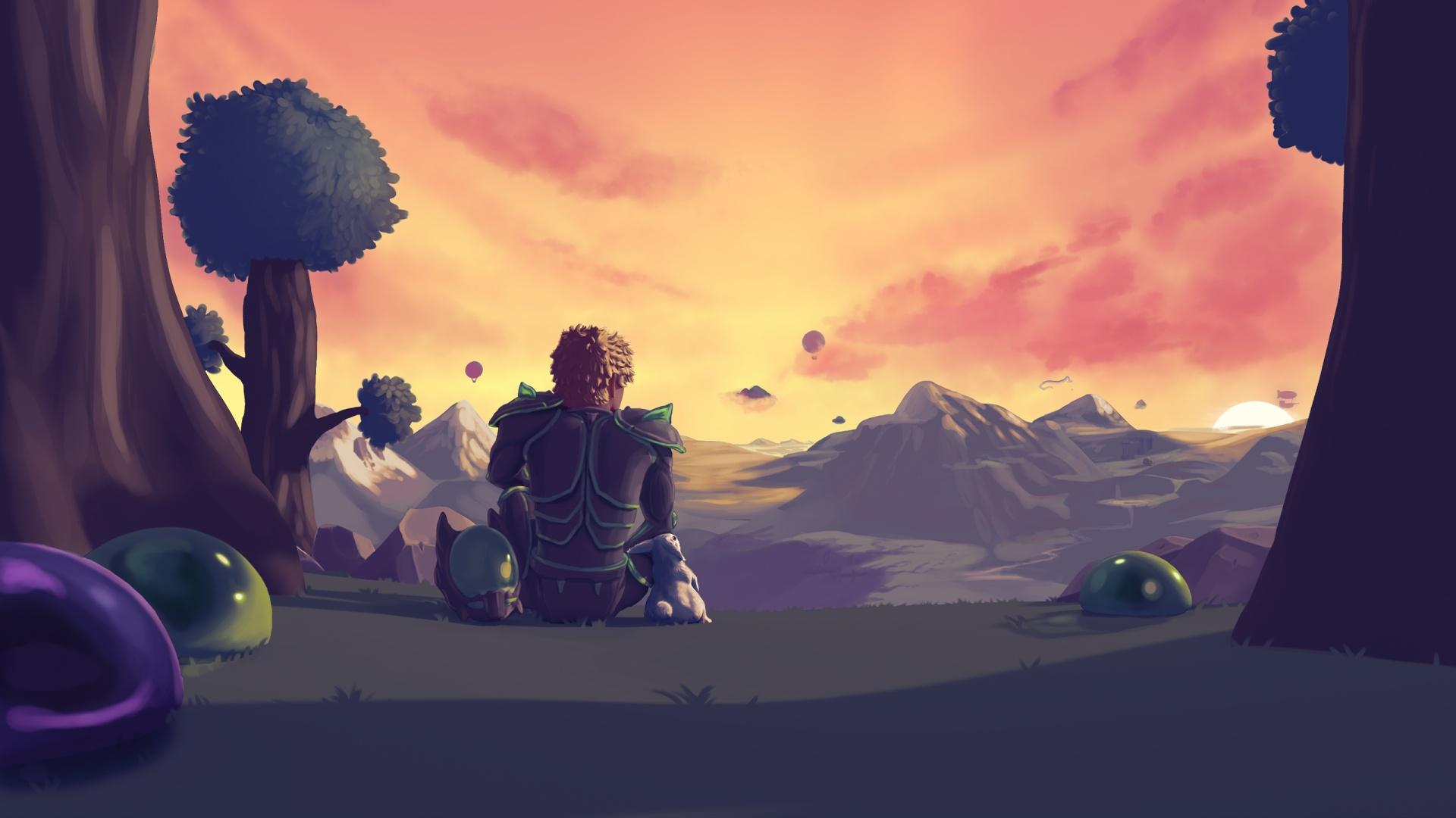 Пиковый онлайн Terraria достиг почти 500 тысяч одновременных игроков
