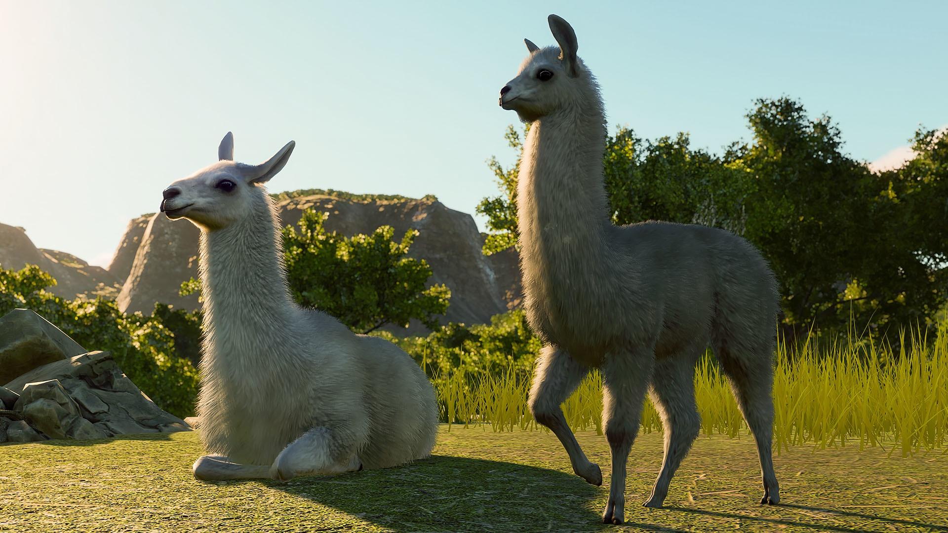 Для Planet Zoo вышло расширение South America Pack