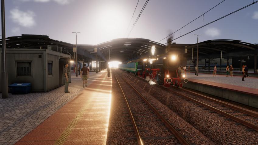 В SimRail 2021 будет реальная погода и трассы, основанные на геодате