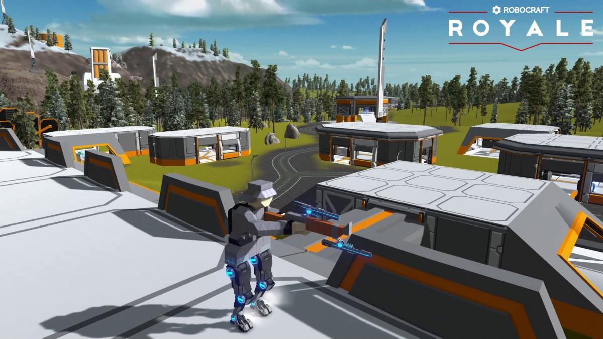 Robocraft Royale стала бесплатной через сутки после выхода