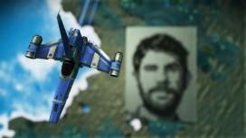 Поклонник No Man's Sky нарисовал лицо разработчика, которое видно из атмосферы