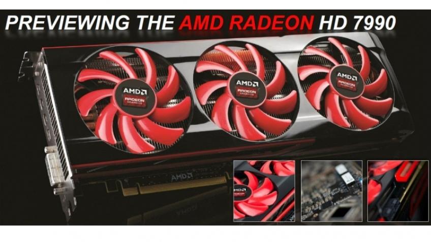 AMD представила референсную версию Radeon HD 7990