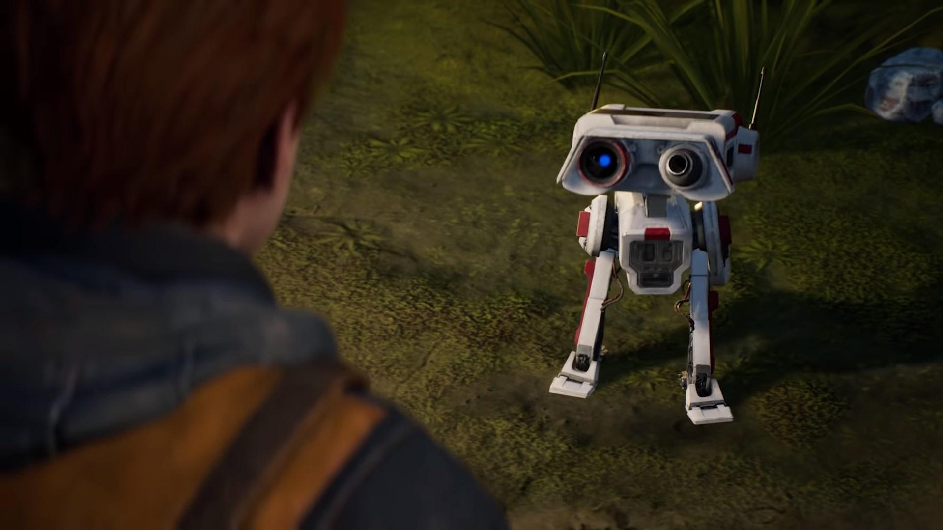 Первый дневник создателей Star Wars Jedi: Fallen Order посвящён дроиду BD-1