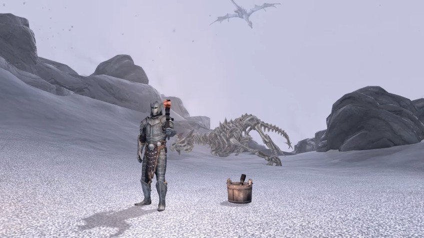Ютубер прошёл Skyrim, используя только факел