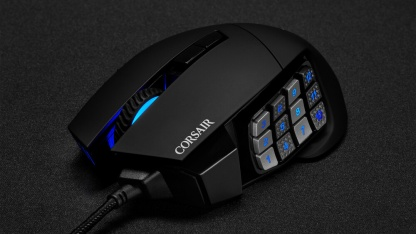 Corsair Introduces New Scimitar RGB Elite Gaming Mouse