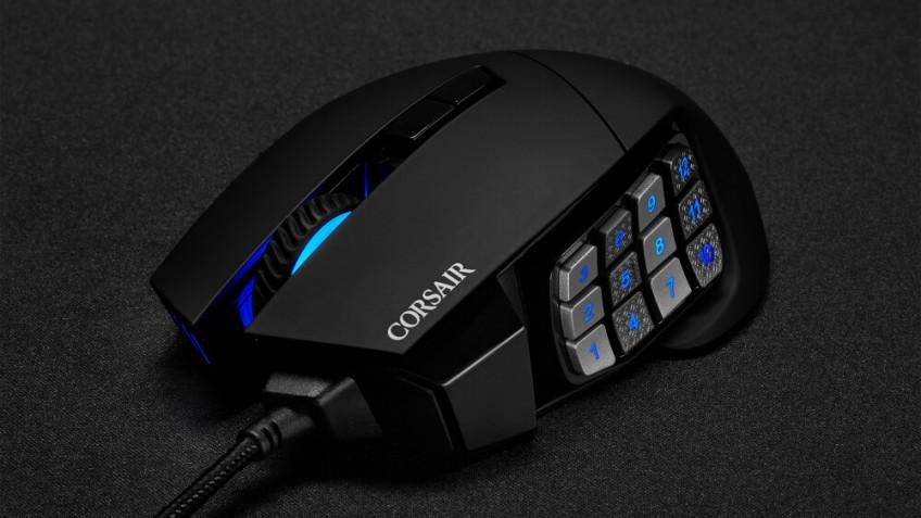 Corsair представила новую игровую мышь Scimitar RGB Elite