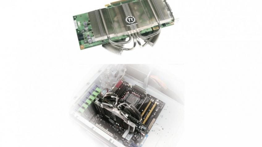 Thermaltake представила пассивный кулер для видеокарт