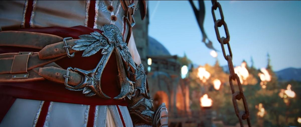 Сегодня в For Honor начнётся кроссовер с Assassin's Creed