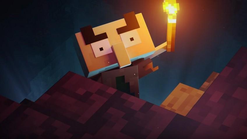 """Опубликованы новые записи игрового процесса Minecraft Dungeons"""">"""