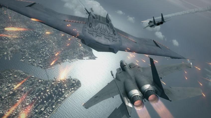 Ace Combat дали разрешение на взлет