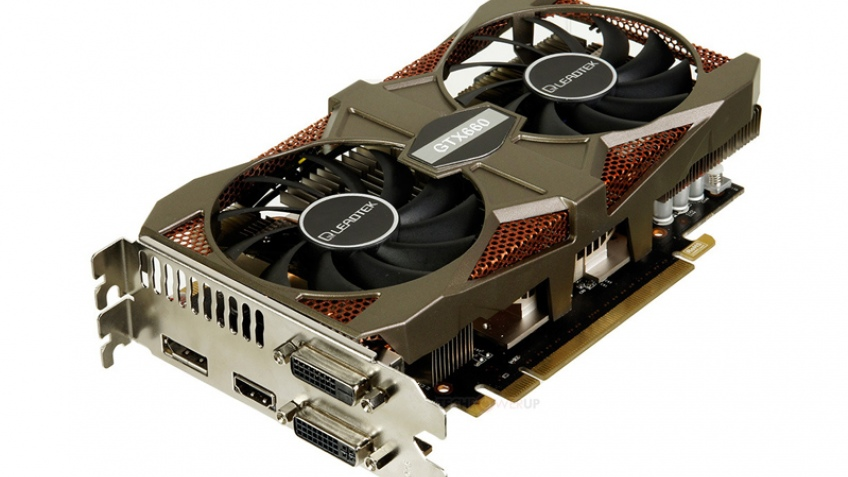 Leadtek представила видеокарту WinFast GeForce GTX 660 Hurricane II