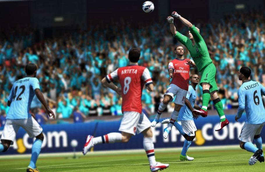 В демонстрационную версию FIFA13 вошли пять клубов