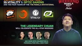 iG Vitality примет участие в All-Star Weekend Manila 2017