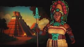 Авторы Civilization VI представили правительницу народа майя
