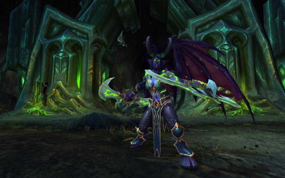 Сыграть за охотника на демонов из World of Warcraft: Legion можно будет уже на следующей неделе