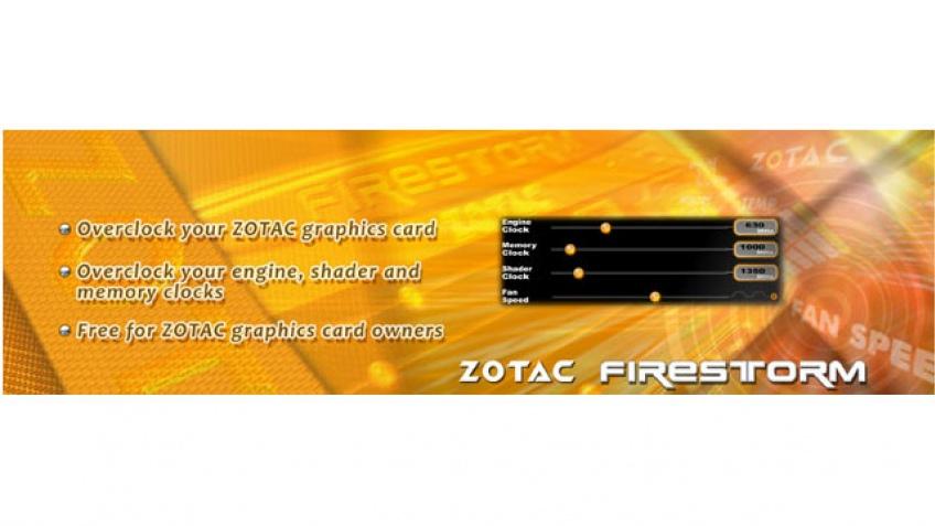 Zotac представила утилиту для разгона