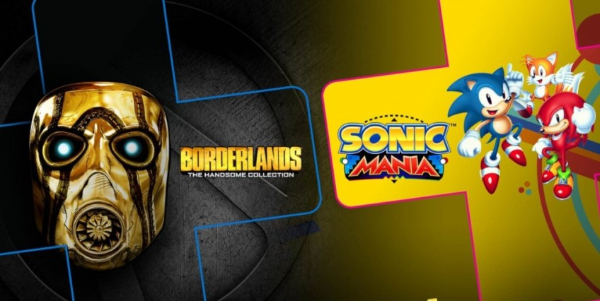 В июне подписчики PS Plus получат Borderlands: The Handsome Collection и Sonic Mania