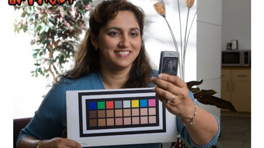 Мобильник определяет цвета