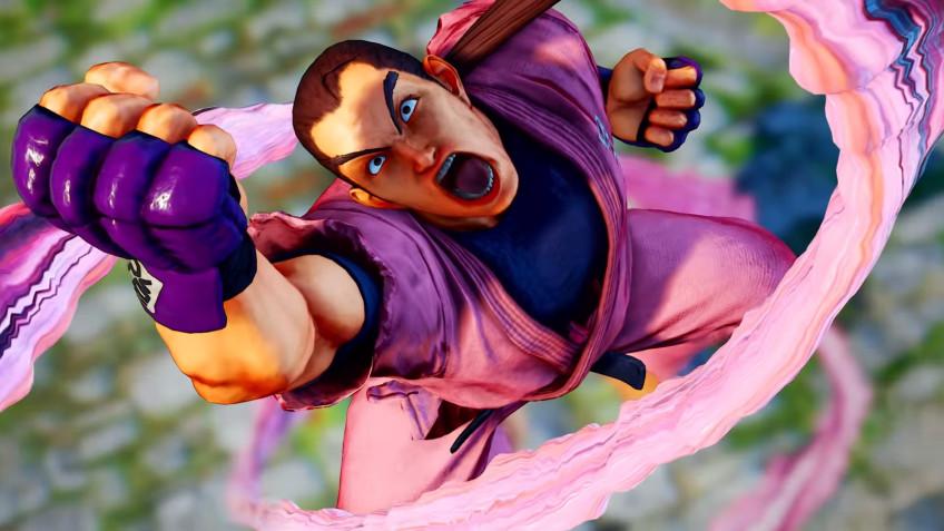 Дэн Хибики в новом геймплейном ролике Street Fighter V: Champion Edition