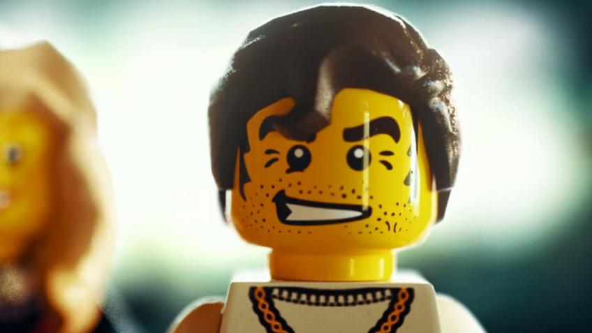 Nukazooka сложили Grand Theft Auto из кубиков LEGO