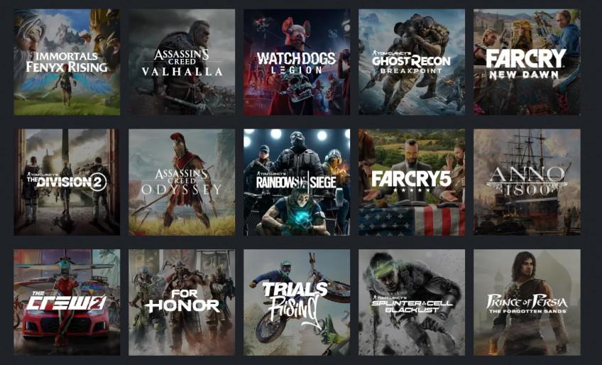 Подписку на месяц Ubisoft Plus продают всего за 399 рублей1