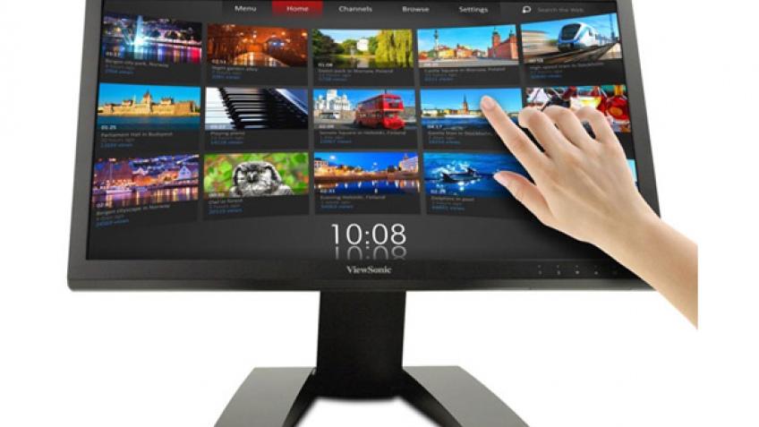 ViewSonic начала продажи сенсорного монитора TD2220