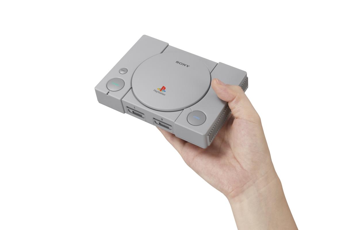 В Sony PlayStation Classic нашли скрытое меню настроек