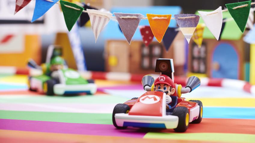 Новый трейлер Mario Kart Live: Home Circuit посвятили особенностям игры